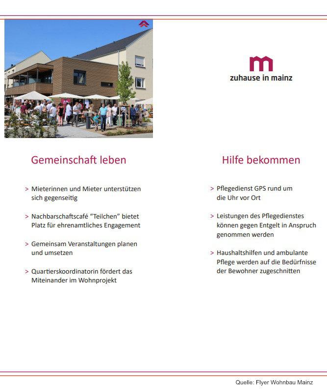 zuhause in Mainz Mehrgenerationen-Wohnprojekte