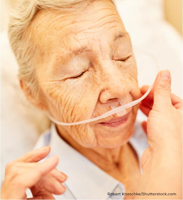 sauerstoffgabe in häuslicher Pflege