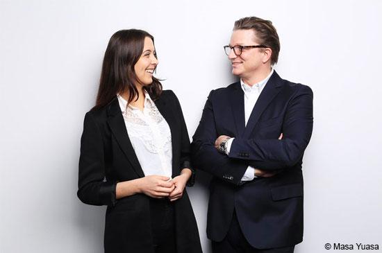 Cornelia Röper und Torsten Anstädt