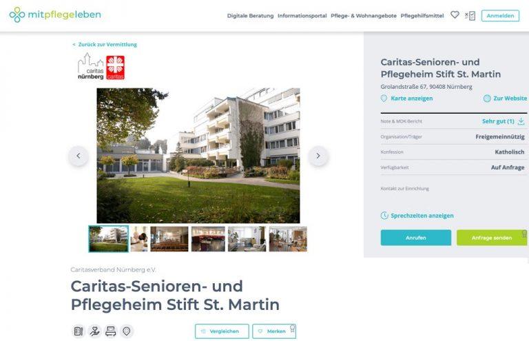 Ihre Anzeige auf mitpflegeleben.de