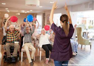Aktivitäten im Pflegeheim