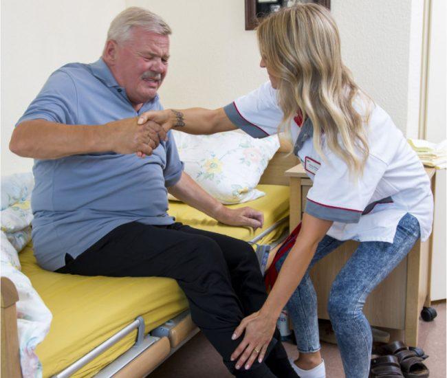Mobilisierung Pflege