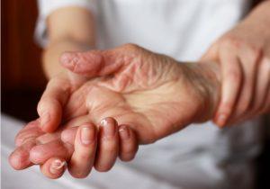 steife Hand
